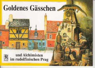 Zlatá ulička / panoramatická mapa  německy(9788086374109)