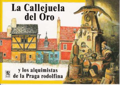 Zlatá ulička / panoramatická mapa  španělsky(9788086374123)