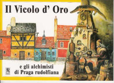 Zlatá ulička / panoramatická mapa  italsky(9788086374130)
