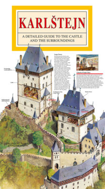 Karlštejn / panoramatická mapa  anglicky(9788086374154)