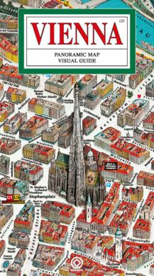 Vídeň / panoramatická mapa  anglicky(9788086374260)