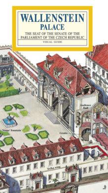 Valdštejnský palác / panoramatická mapa  anglicky(9788086374314)
