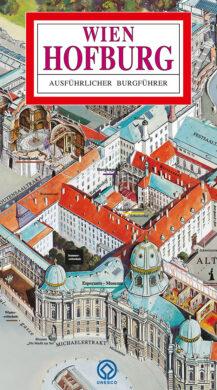 Hofburg / panoramatická mapa  německy(9788086374321)