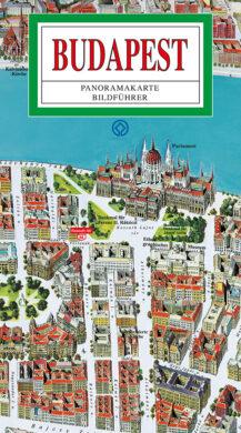 Budapešť / panoramatická mapa  německy(9788086374376)