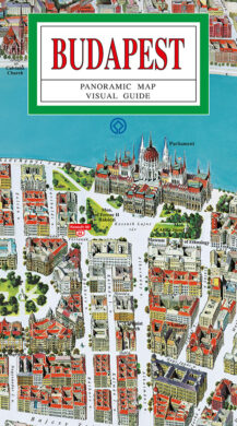 Budapešť / panoramatická mapa  anglicky(9788086374383)