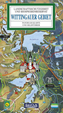 Třeboňsko / panoramatická mapa  německy(9788086374444)
