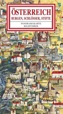 Rakousko / panoramatická mapa  německy(9788086374475)