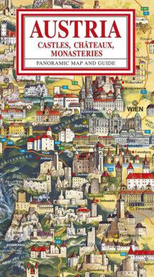 Rakousko / panoramatická mapa  anglicky(9788086374482)