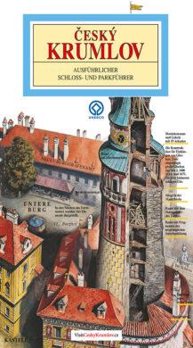 Český Krumlov - zámek / panoramatická mapa  německy(9788086374604)