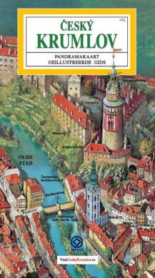 Český Krumlov - město / panoramatická mapa  holandsky(9788086374697)