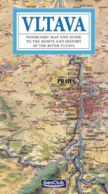 Vltava / panoramatická mapa  anglicky(9788086374888)
