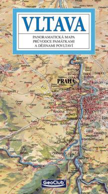 Vltava / panoramatická mapa  česky(9788086374895)