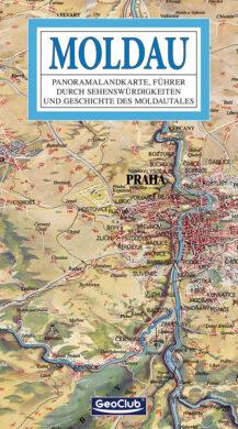 Vltava / panoramatická mapa  německy(9788086374901)