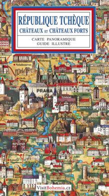 Česká republika / panoramatická mapa  francouzsky(9788086374994)