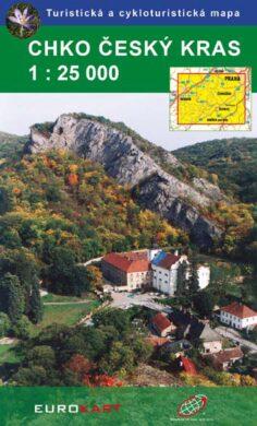 Český kras CHKO / cykloturistická mapa 1:25 000(9788086782775)