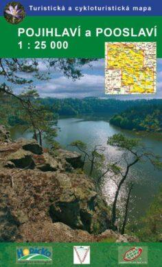 Pojihlaví a Pooslaví / cykloturistická mapa 1:25 000(9788086782782)