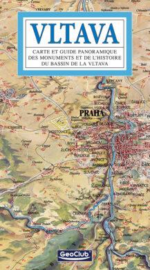 Vltava / panoramatická mapa  francouzsky(9788086893075)