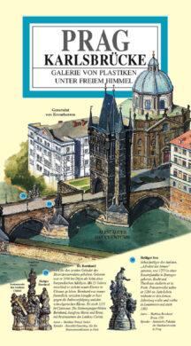 Karlův most / panoramatická mapa  německy(9788086893204)