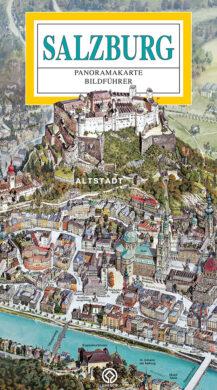 Salzburg / panoramatická mapa  německy(9788086893235)