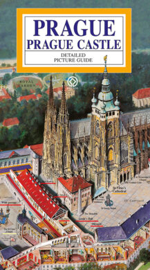 Pražský hrad / panoramatická mapa  anglicky(9788086893259)