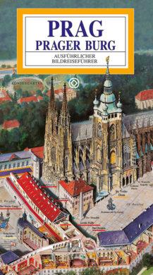 Pražský hrad / panoramatická mapa  německy(9788086893266)
