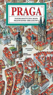 Praha / panoramatická mapa  polsky(9788086893426)