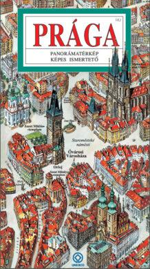 Praha / panoramatická mapa  maďarsky(9788086893433)