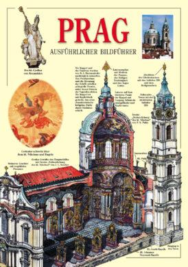 Praha / obrazový průvodce  německy(9788086893518)