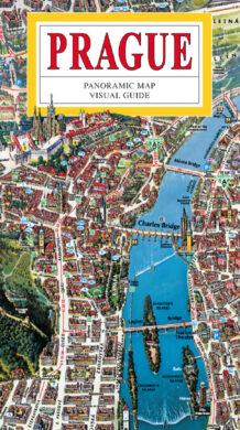 Praha / panoramatická mapa velká  anglicky(9788086893778)