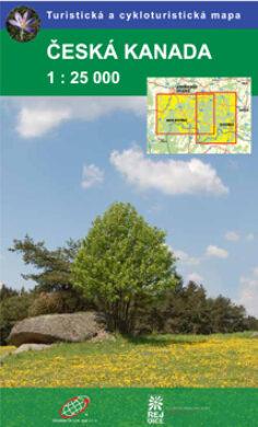Česká Kanada / cykloturistická mapa 1:25 000(9788087380000)