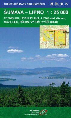 Šumava - Lipno / cykloturistická mapa 1:25 000(9788087380031)