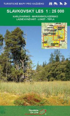 Slavkovský les / cykloturistická mapa 1:25 000(9788087380055)