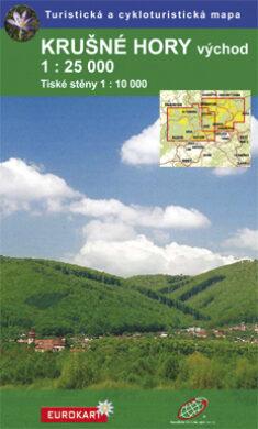 Krušné hory - východ / cykoturistická mapa 1:25 000(9788087380079)