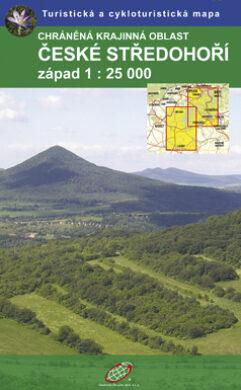 České Středohoří / cykoturistická mapa 1:25 000(9788087380086)