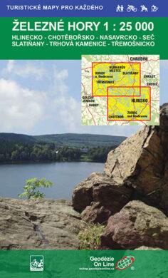 Železné hory / cykloturistická mapa 1:25 000(9788087380130)