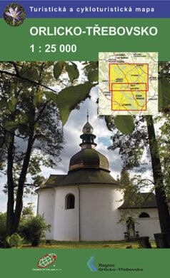 Orlicko - Třebovsko / cykloturistická mapa 1:25 000(9788087380154)