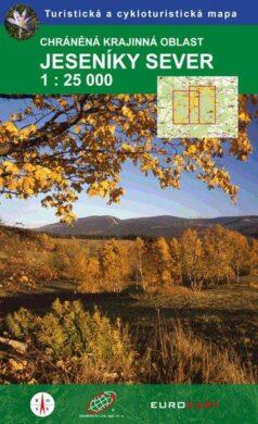Jeseníky - sever / cykloturistká mapa 1:25 000(9788087380178)