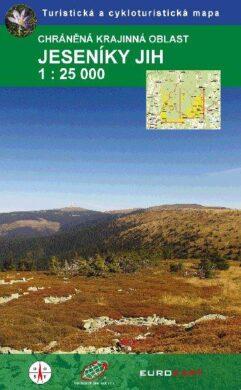 Jeseníky - jih / cykloturistická mapa 1:25 000(9788087380185)