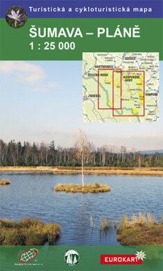 Šumava - Pláně / cykloturistická mapa 1:25 000(9788087380413)