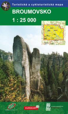 Broumovsko / cykloturistická mapa 1:25 000(9788087380444)