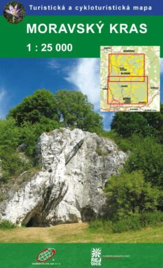 Moravský kras / cykloturistická mapa 1:25 000(9788087380475)