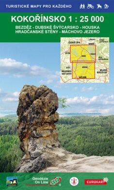 Kokořínsko / cykloturistická mapa 1:25 000(9788087380550)
