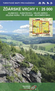 Žďárské vrchy / cykloturistická mapa 1:25 000(9788087380598)