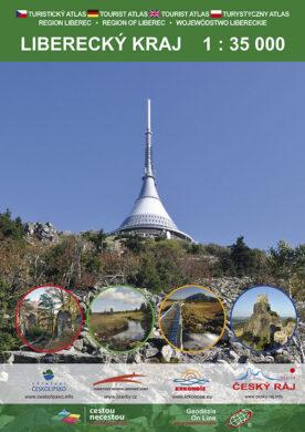 Liberecký kraj / turistický atlas 1:35 000(9788087380604)