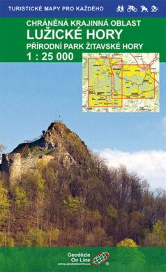 Lužické hory / cykloturistická mapa 1:25 000(9788087380628)