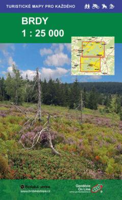Brdy / cykoturistická mapa 1:25 000(9788087380642)