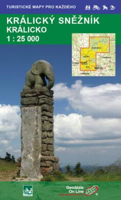 Králický Sněžník, Králicko / cykloturistická mapa 1:25 000(9788087380727)