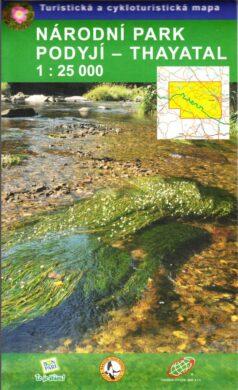 Národní park Podyjí - Thayatal / cykloturistická mapa 1:25 000(9788087380772)