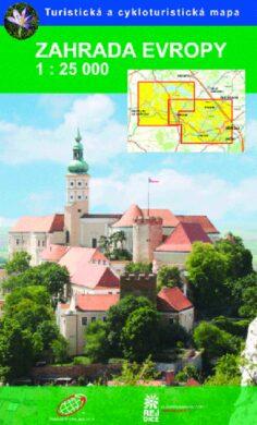 Zahrada Evropy / cykloturistická mapa 1:25 000(9788087380789)