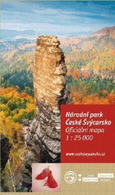 České Švýcarsko NP / cykloturistická mapa 1:25 000(9788087380819)